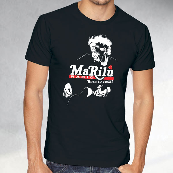 T-shirt Keith Richards - Radio Marilù